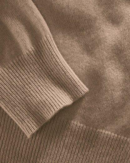 Brigitte von Schönfels V-Pullover aus Cashmere