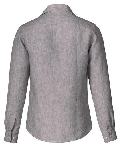 Almsach Leinenstreifenhemd Slim