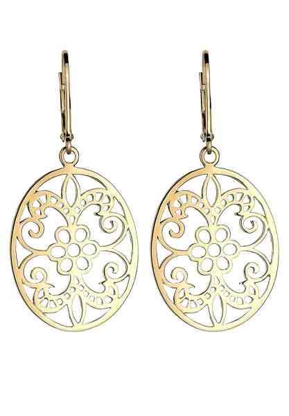 Elli Ohrringe »Ornament Floral Orientalisch 925 Silber«