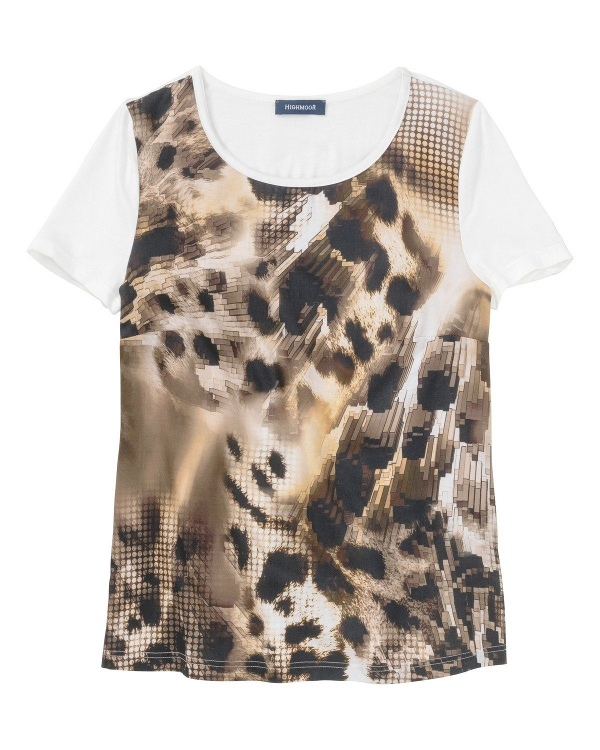 Highmoor T-Shirt mit Animalprint