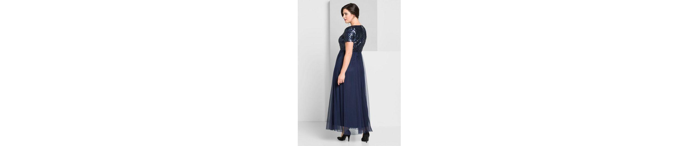 sheego Style Abendkleid, mit Pailletten besetzt