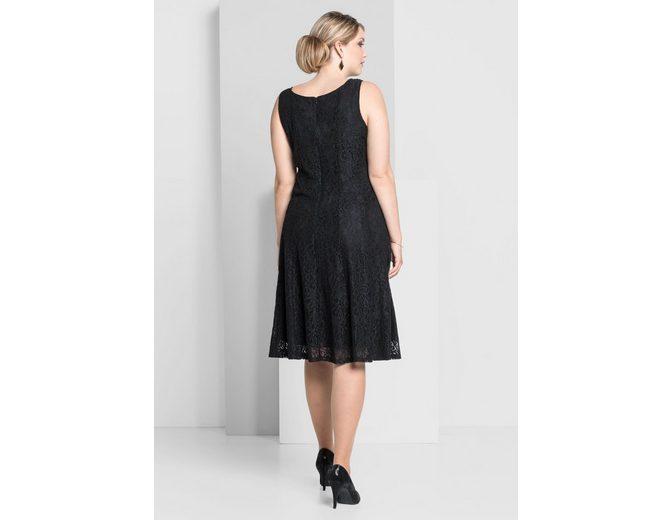 sheego Style Spitzenkleid Für Billig Günstig Online Rabatt Top-Qualität z8X2Ai