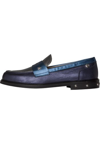 Damen Tommy Hilfiger Slipper D1285AISY 13Z blau | 08719255398726
