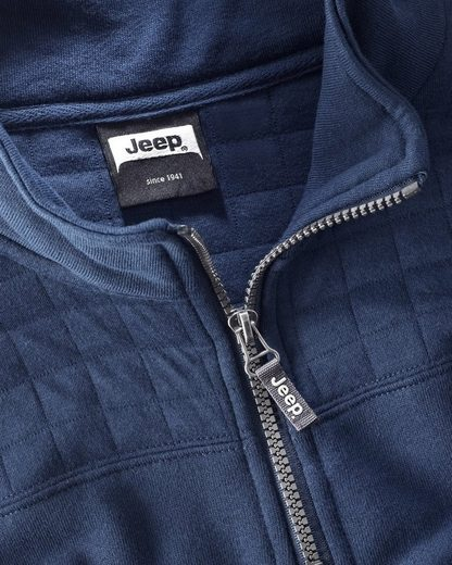 Jeep Troyer Quilted Half Zip