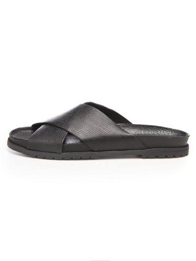 Bianco Überkreuz- Sandalen
