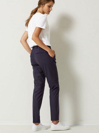 Selected Femme Slim Fit - Anzughose mit schrägen Taschen