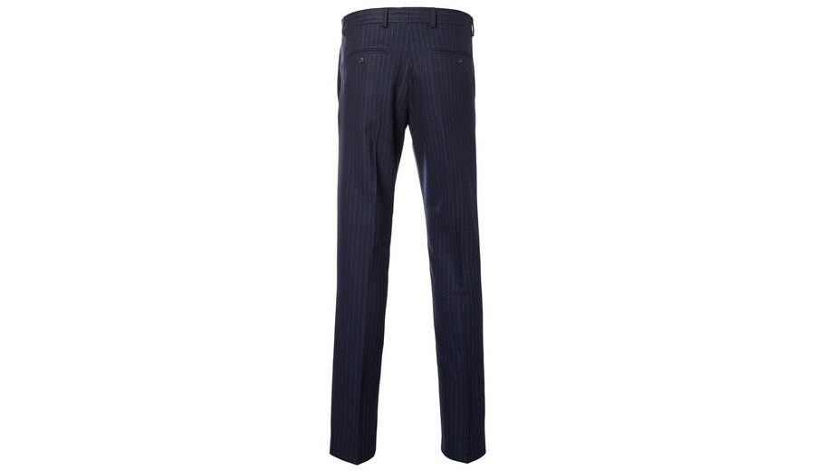 Mode Günstig Online Factory-Outlet-Online Selected Homme Slim-Fit-Anzughose mit Rippenmuster FZjJoxN9a
