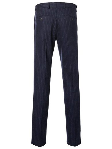 Selected Homme Slim-Fit-Anzughose mit Rippenmuster