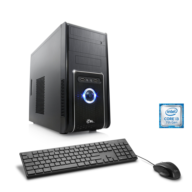 CSL Multimedia PC | Intel Core i3-7100 | Intel HD 630 | 8GB DDR4 RAM »Speed T5911 Intel Optane«