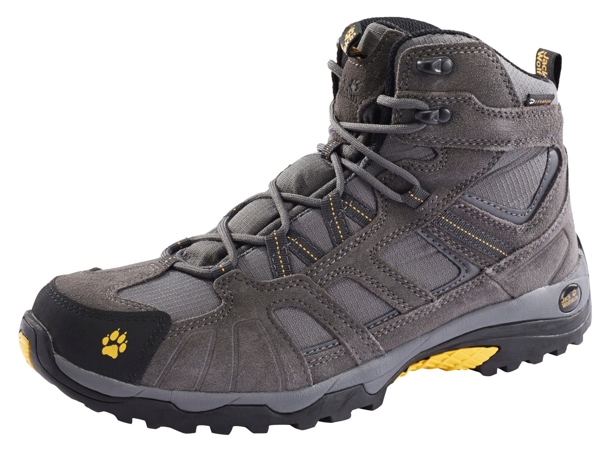 Jack Wolfskin Kletterschuh »Vojo Hike Texapore Hiking Shoes Mid Cut Men«