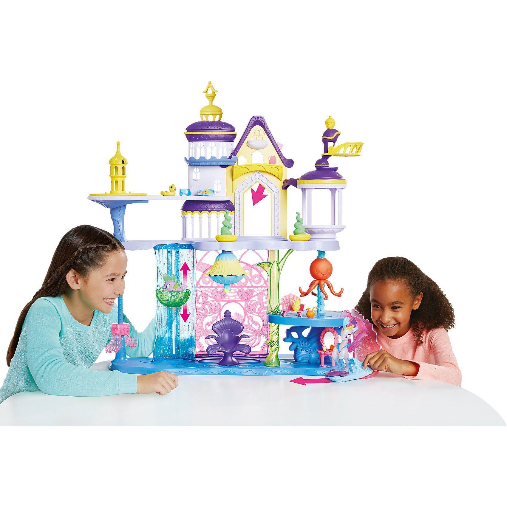 Hasbro MLP Movie Schloss Canterlot & Seaquestria