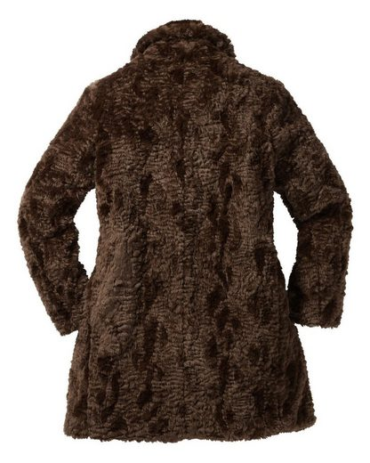 Milestone Fake-Fur Mantel