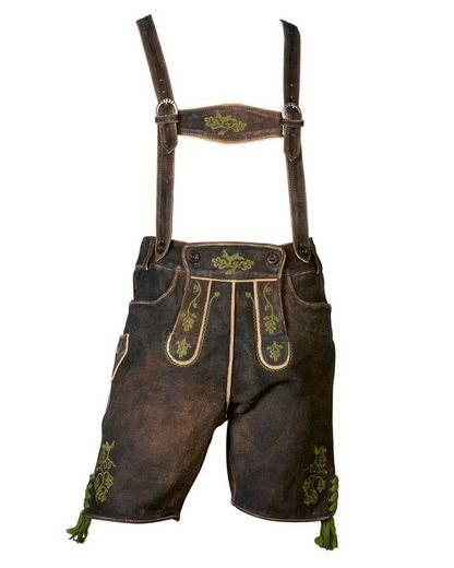 Almsach Short Leather Pants Laux