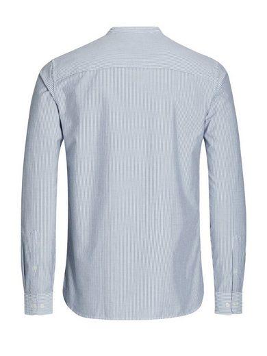Jack & Jones Stehkragen- Long-sleeved Shirt