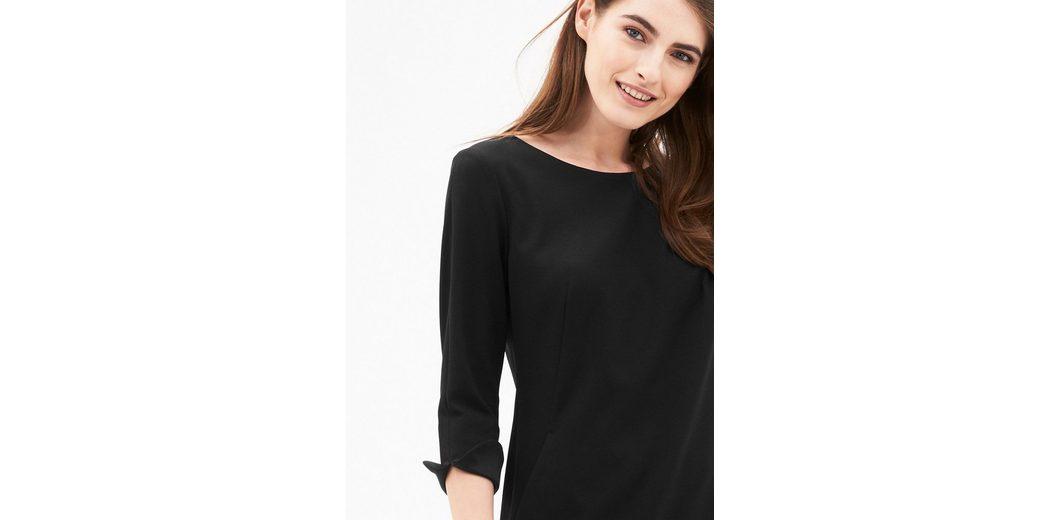 s.Oliver BLACK LABEL Schlicht elegantes Crêpe-Kleid Factory-Outlet-Verkauf Online yCPSk