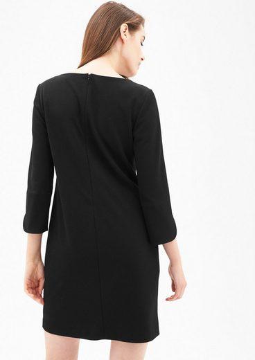 s.Oliver BLACK LABEL Schlicht elegantes Crêpe-Kleid