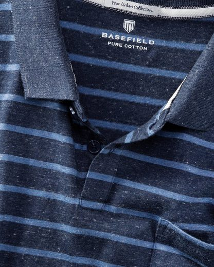 Basefield Polo With Marigold Pattern