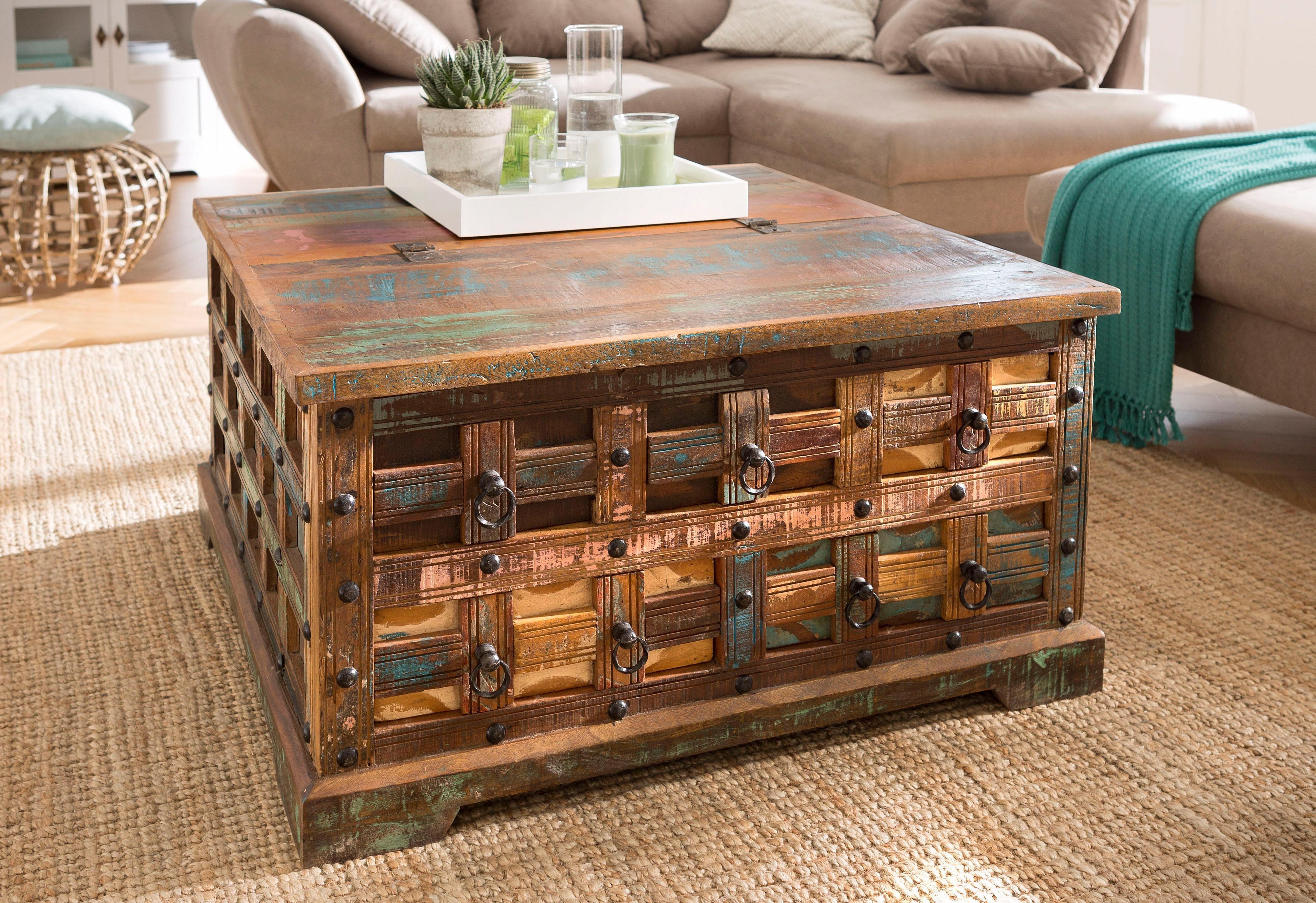 couchtisch truhe preisvergleich die besten angebote online kaufen. Black Bedroom Furniture Sets. Home Design Ideas