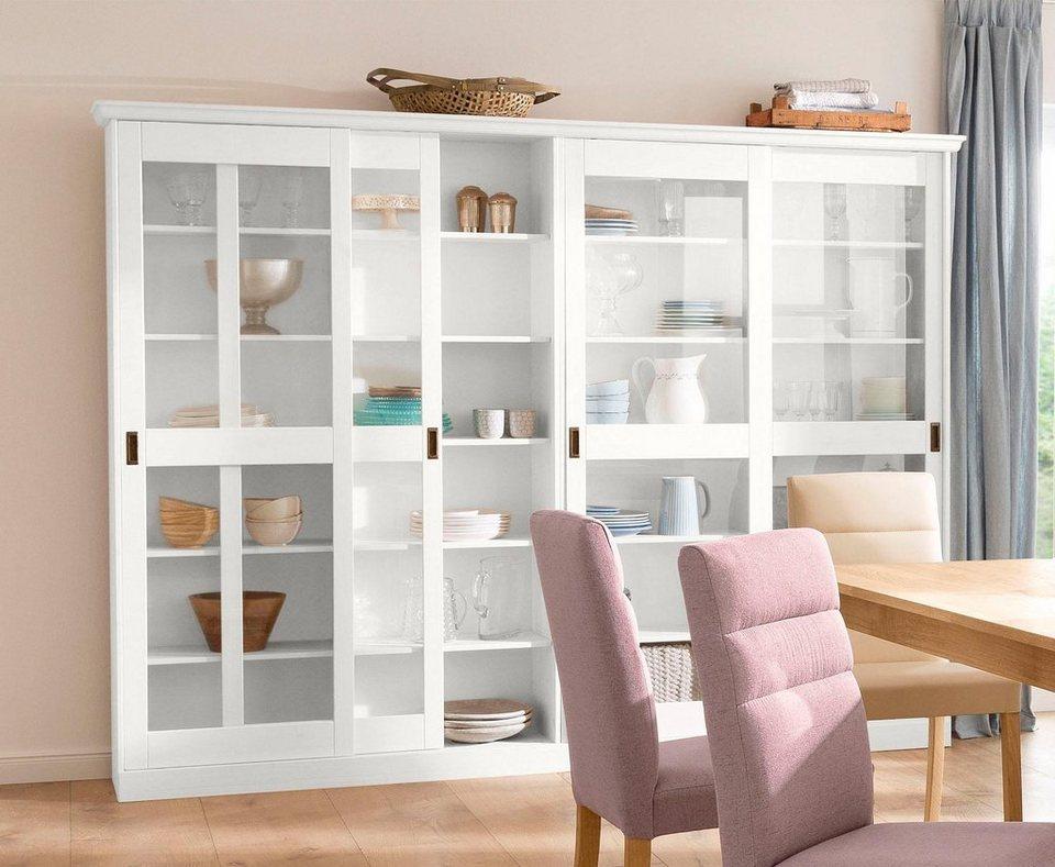home affaire 2 t rige vitrine marina aus massiver kiefer online kaufen otto. Black Bedroom Furniture Sets. Home Design Ideas