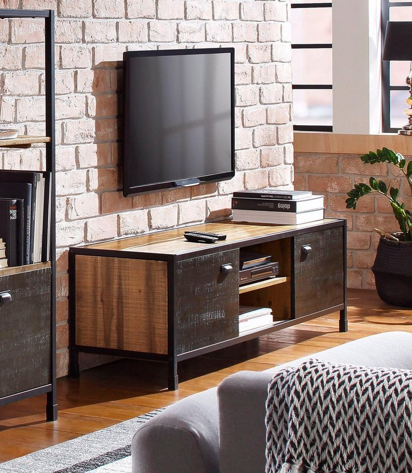 home affaire tv lowboard soho breite 165 cm otto. Black Bedroom Furniture Sets. Home Design Ideas