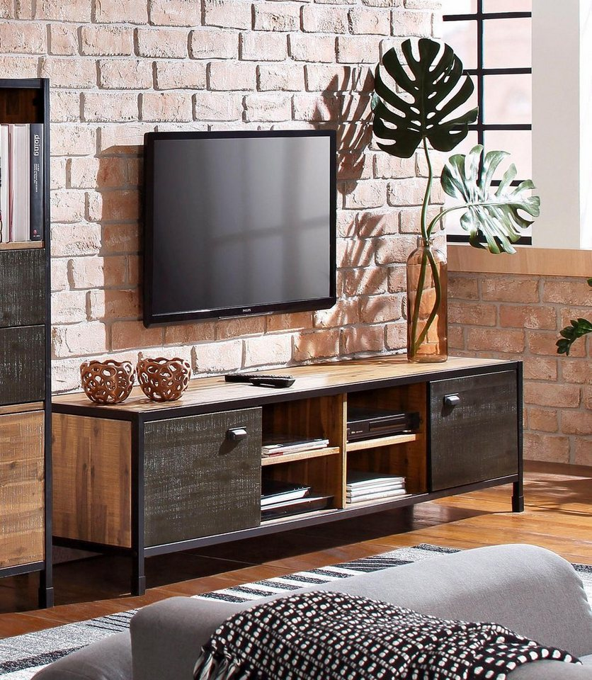 home affaire tv lowboard soho breite 200 cm otto. Black Bedroom Furniture Sets. Home Design Ideas
