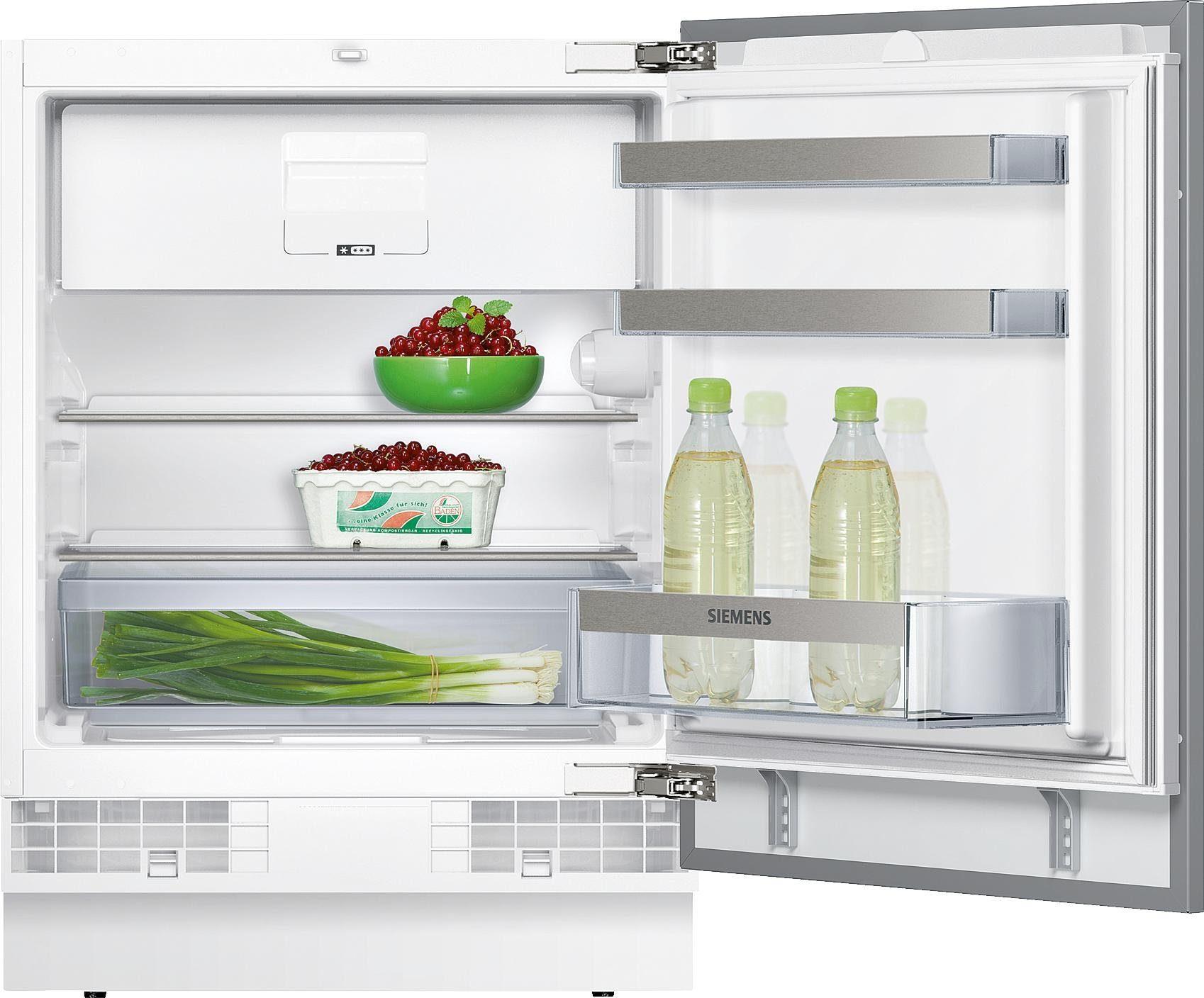 Siemens integrierter Unterbau-Kühlschrank KU15LSX60, A++, 82 cm hoch