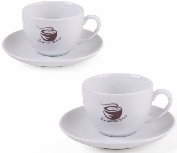 vivo villeroy boch group cappuccinotassen set hartporzellan 4 teile hot basics online. Black Bedroom Furniture Sets. Home Design Ideas