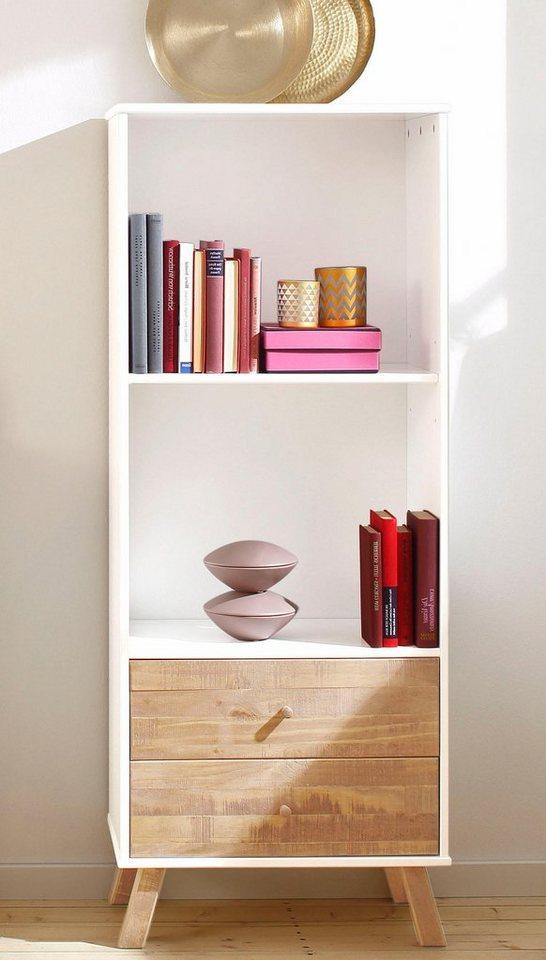 home affaire regal rondo h he 140 cm mit 2 offenen f chern online kaufen otto. Black Bedroom Furniture Sets. Home Design Ideas
