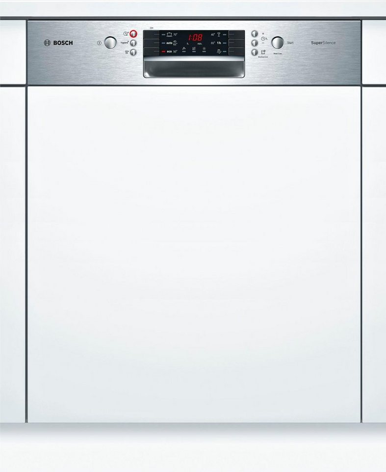 Bosch teilintegrierbarer geschirrspuler smi46ms03e a 9 for Teilintegrierbarer geschirrspüler