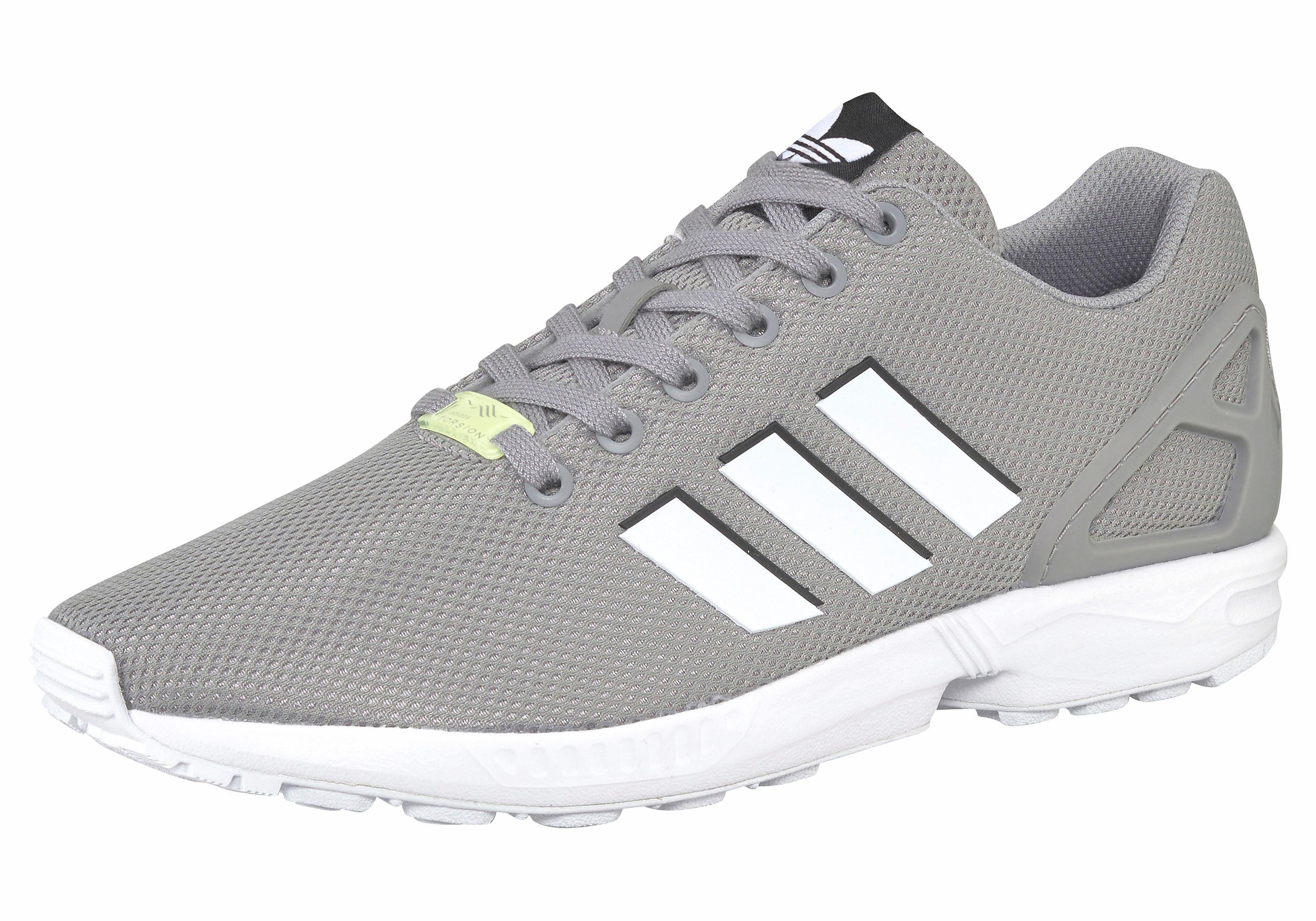 adidas Originals ZX Flux Sneaker, Seasonal  grau-weiß