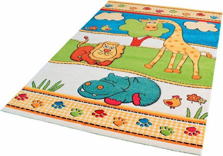 Kinderteppich »Rhapsody Kids1517«, Impression, rechteckig, Höhe 13 mm