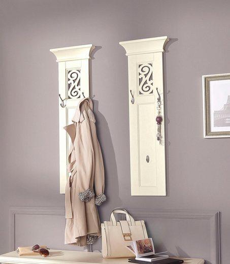 Premium collection by Home affaire Garderobenpaneel »Arabeske«, im 2er Set, mit schönen eingearbeiteten Ornamenten, Breite pro Paneel 30 cm