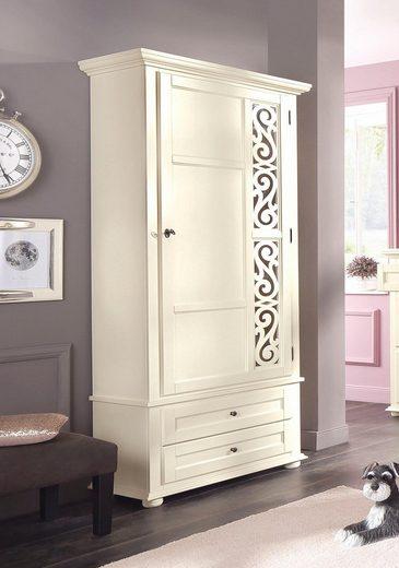 Premium collection by Home affaire Garderobenschrank »Arabeske« mit schönem Verzierungsmuster auf der Tür