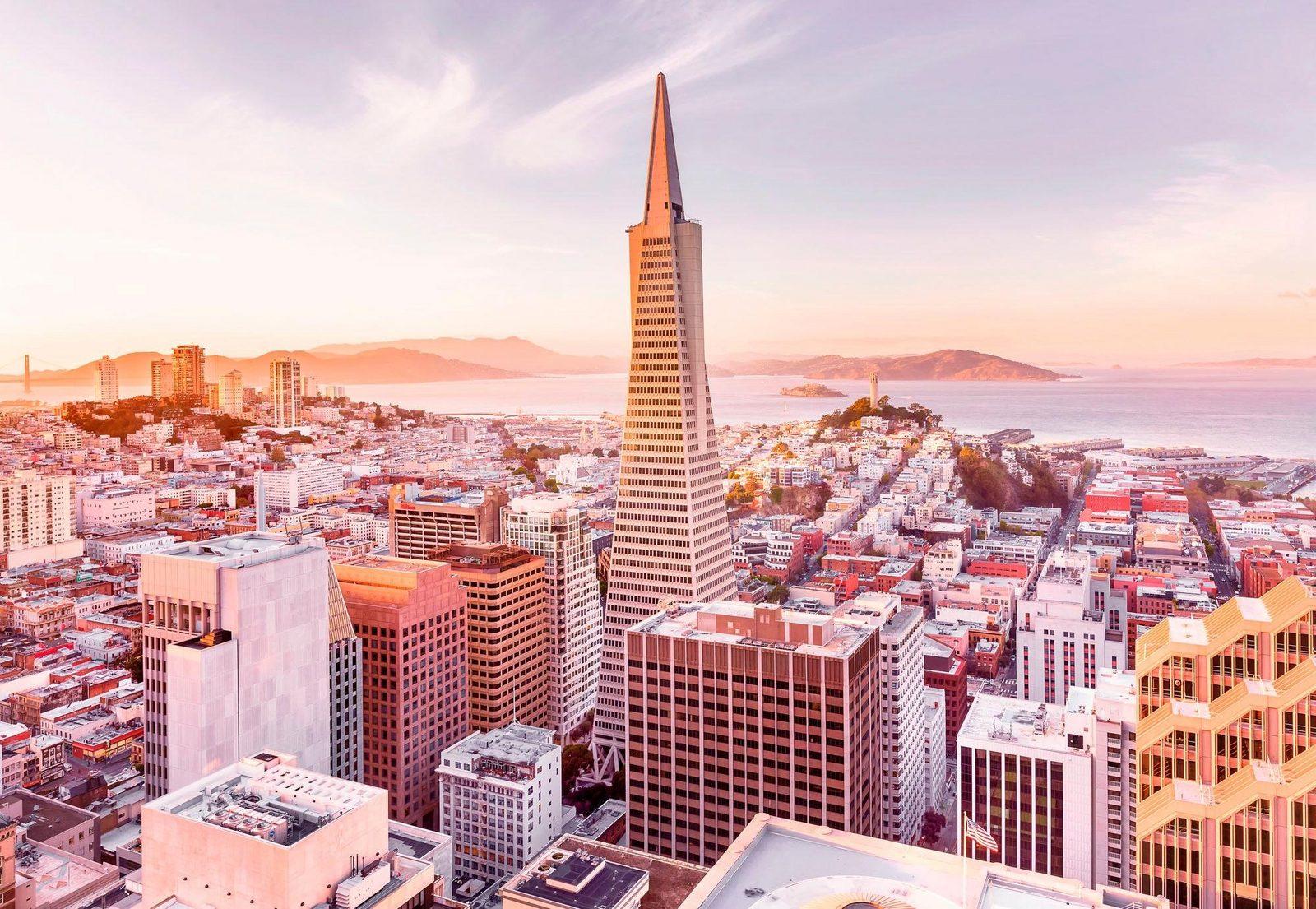 Komar Fototapete »San Francisco Morning« 368/254 cm