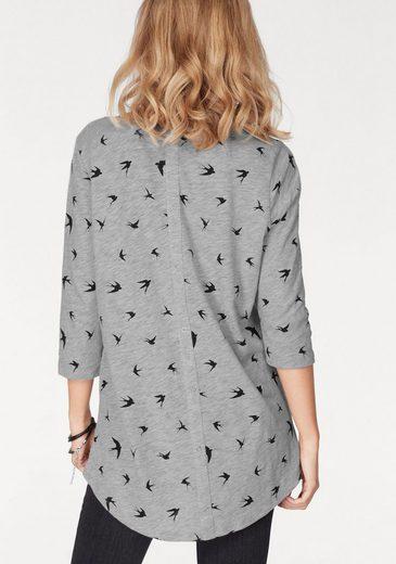 Only Longshirt CASA, mit Sternen und anderen Trendmotiven