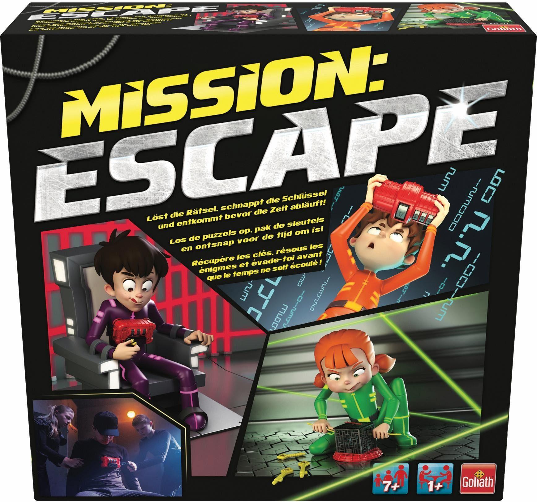Goliath Familienspiel, »Mission Escape«