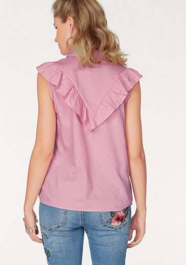 Vero Moda Blusentop Olivia, With Fashionable Volant