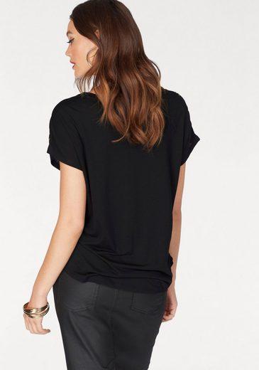 Melrose Rundhalsshirt, in Oversize-Form
