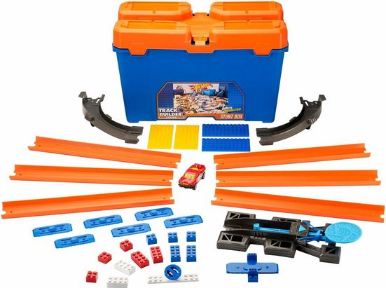 Hot Wheels Autorennbahn »Hot Wheels® Track Builder Super-Stuntbox«