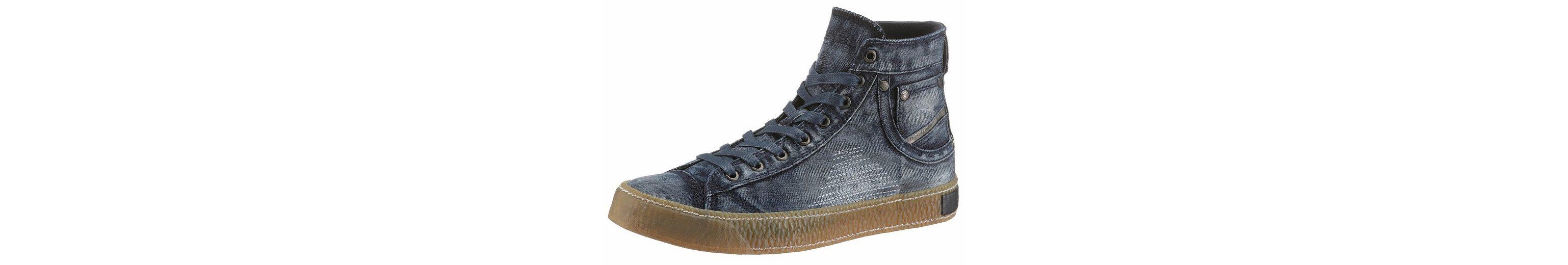 Diesel Exposure I Sneaker, im stylischen Jeans-Look