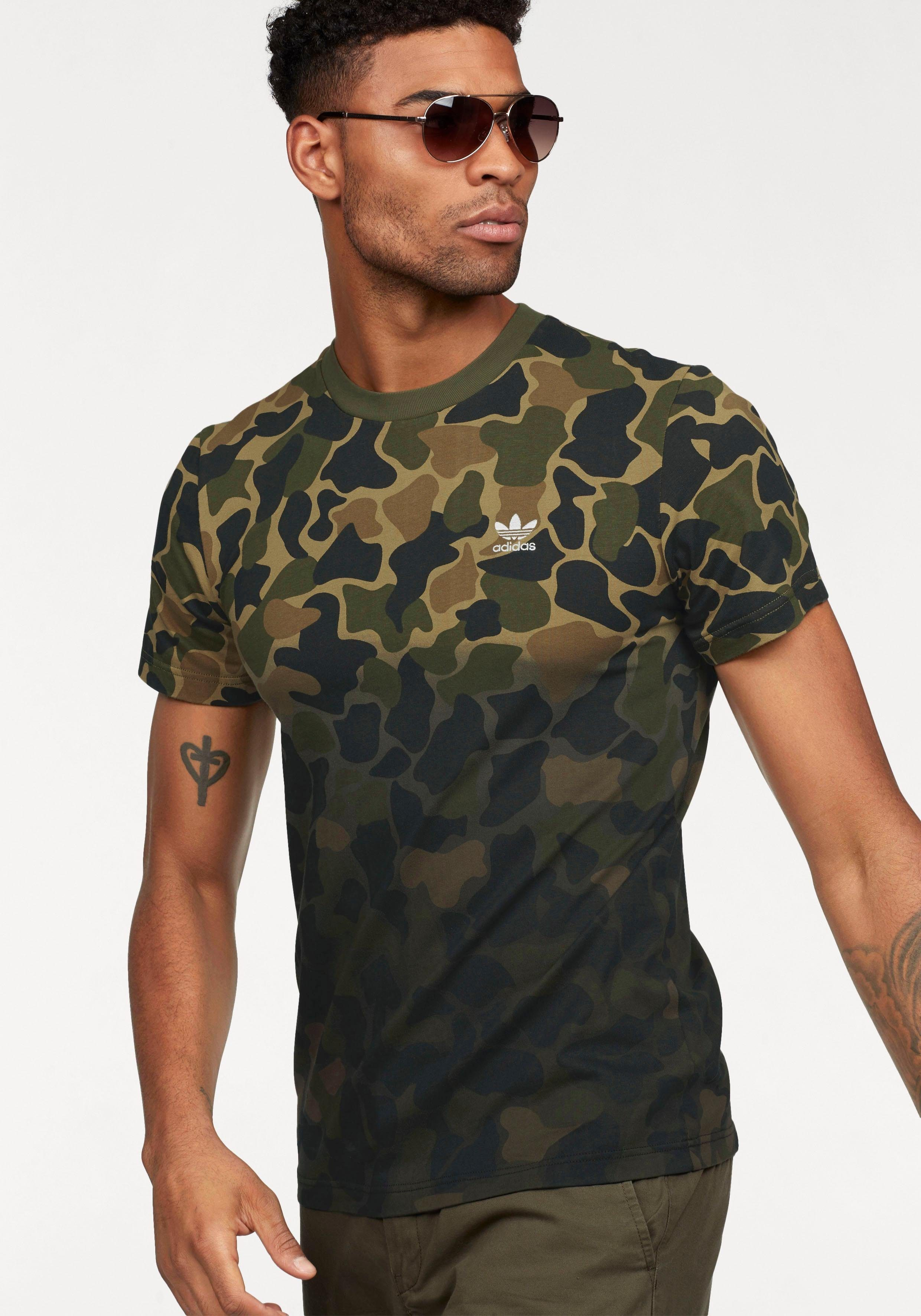 camouflage t-shirt adidas