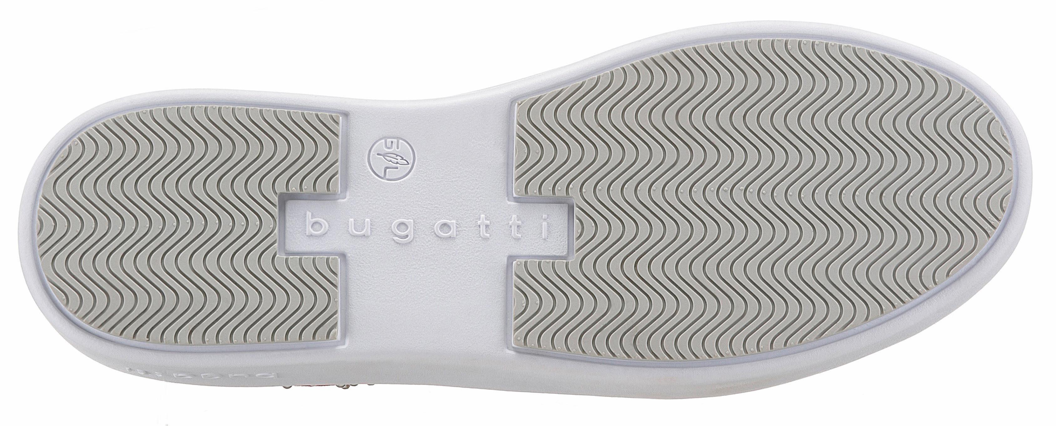 Bugatti Kelli Schnürschuh, mit Schmucksteinen  rot
