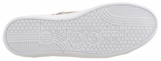 Sneaker optik In Bugatti Metallic Mit Reptilienprägung 6wq7dR7