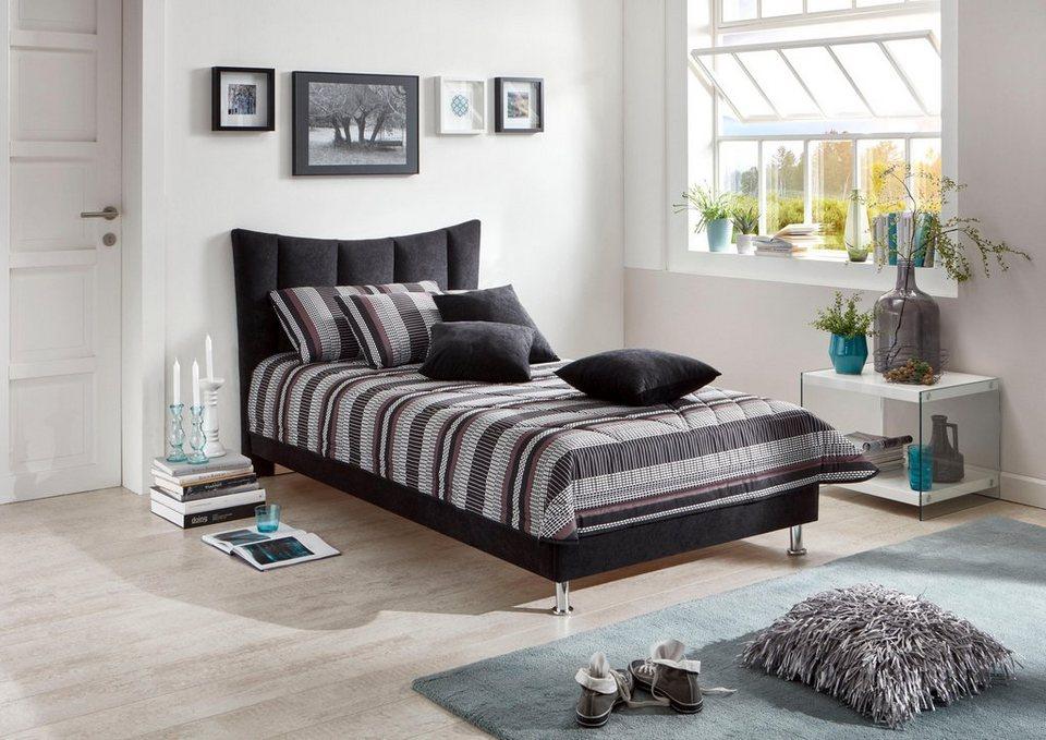 westfalia schlafkomfort polsterbett mit nach innen. Black Bedroom Furniture Sets. Home Design Ideas