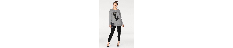 Vero Moda Sweatshirt SWAN, mit trendy Stickerei