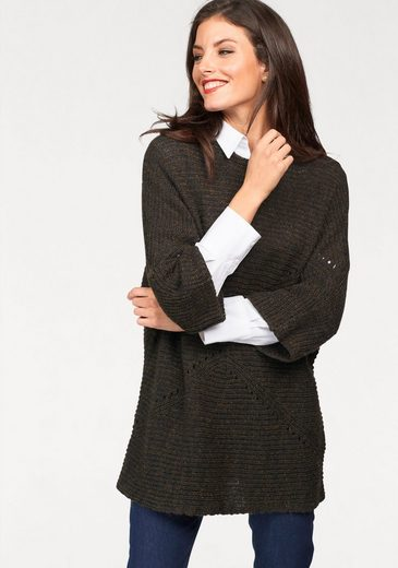 Vivance 3/4 Arm-Pullover, im Oversized-Look