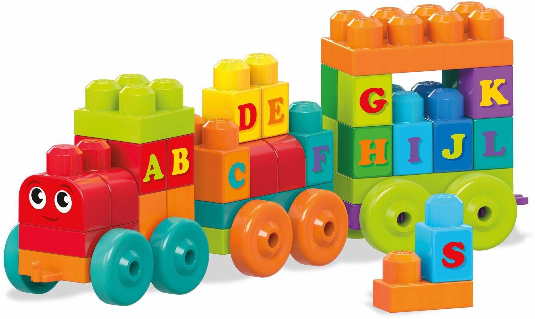 Mattel Lernspielzeug, »Mega Bloks ABC Lernzug«