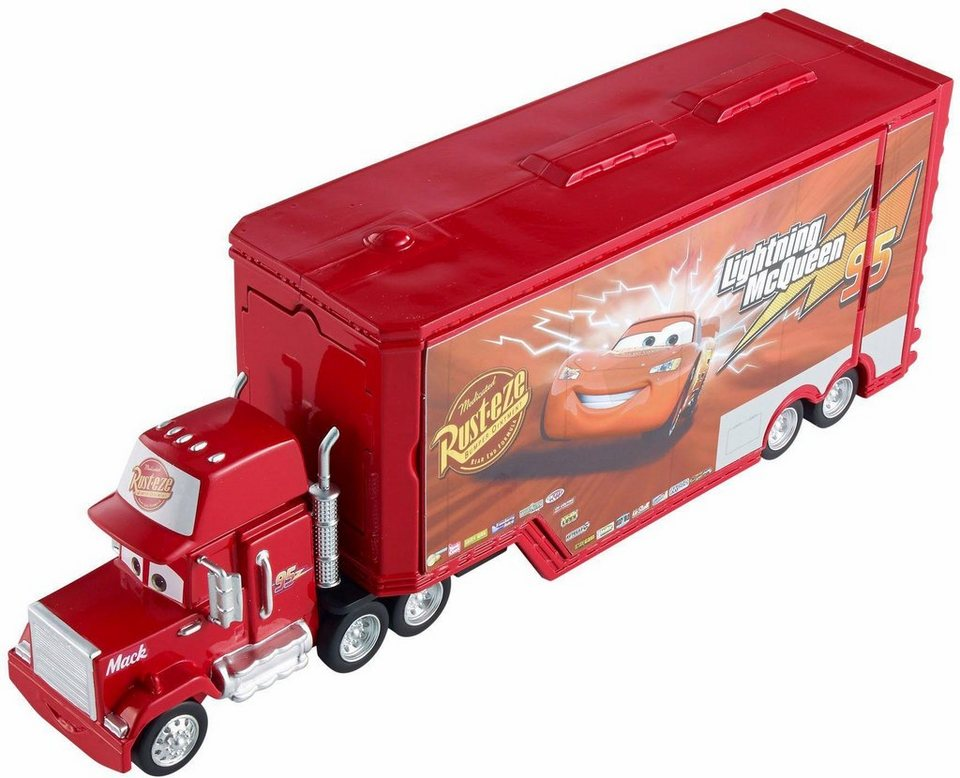 mattel verwandelbarer truck disney cars 3 in 1. Black Bedroom Furniture Sets. Home Design Ideas