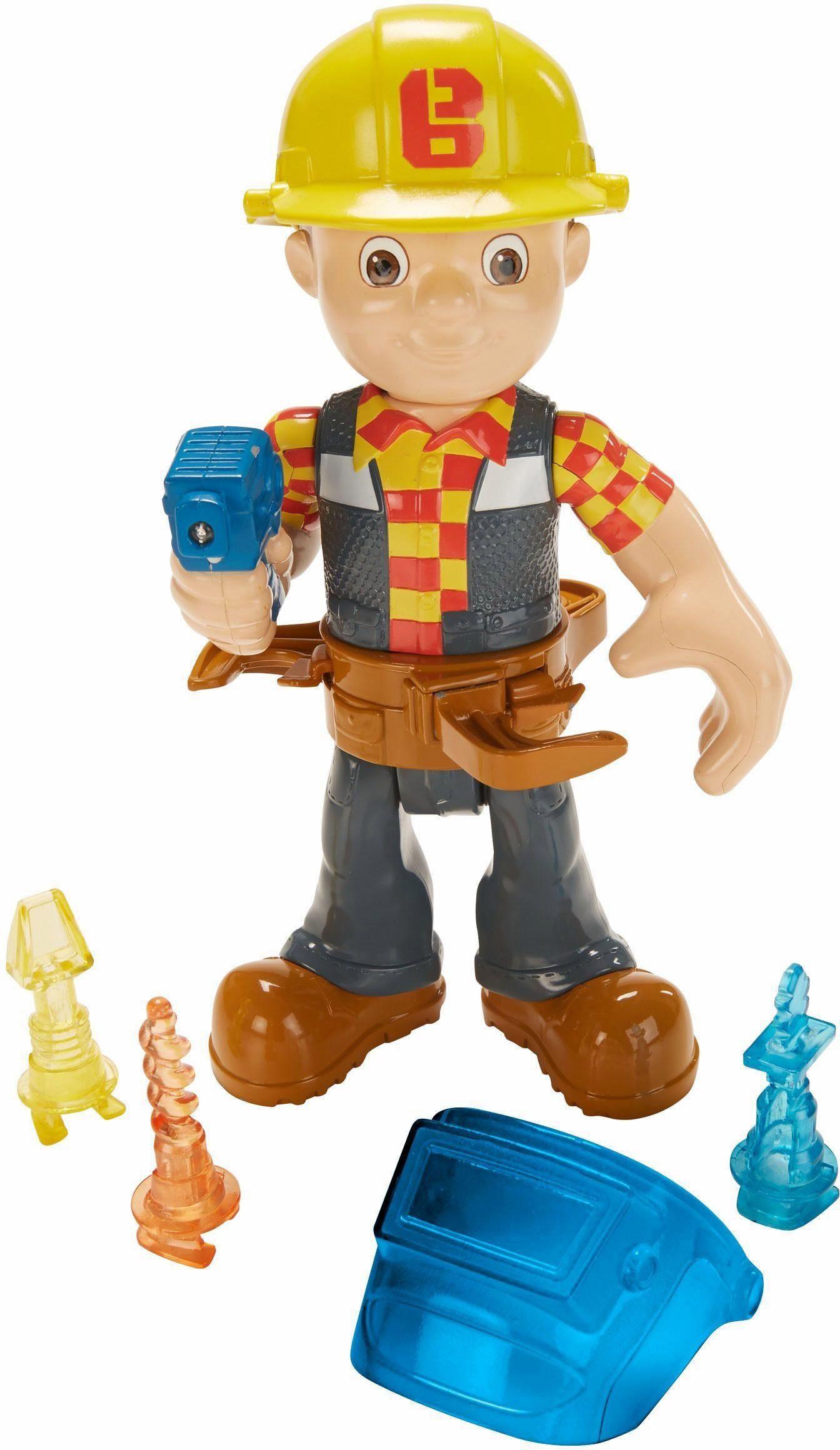 Mattel Spielzeugfigur, »Bob der Baumeister, Werkzeug-Bob«
