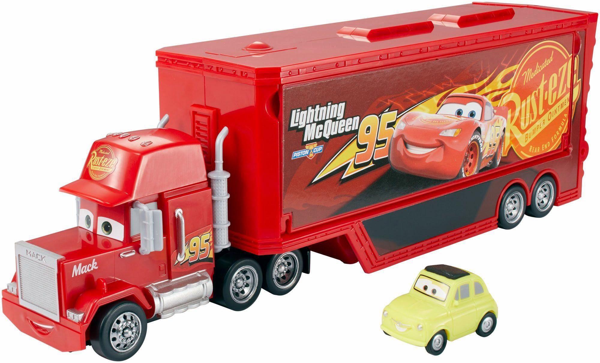 Mattel Spielfahrzeug, »Disney Cars 3 Reisetruck Mack Spielset«